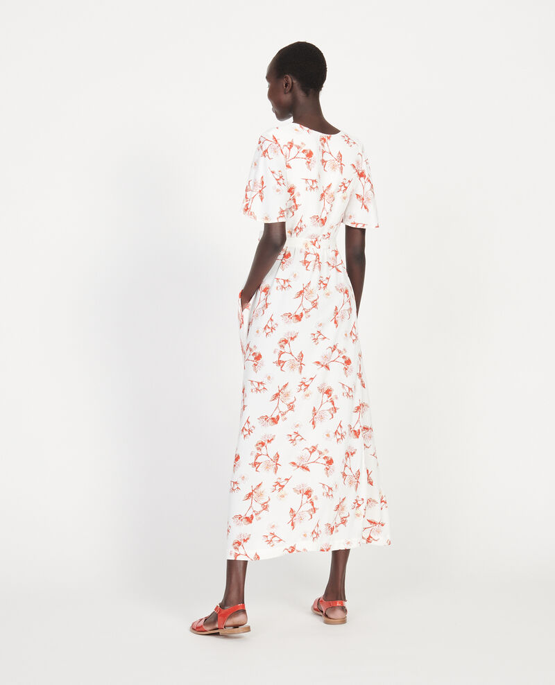 Vestido largo Herbier gardenia ketchup Lavish