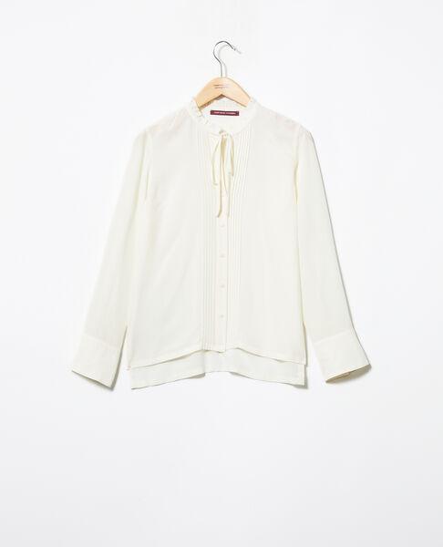 Comptoir des Cotonniers - Blusa de seda Champagne - 3
