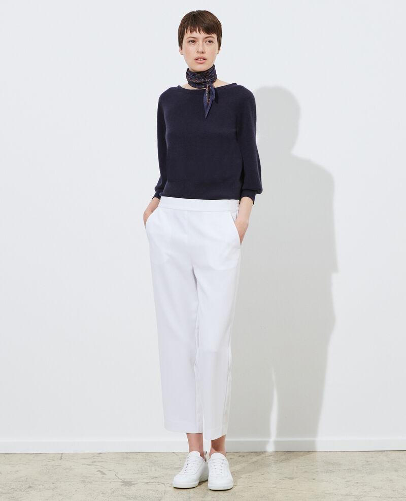 Pantalón fluido elástico Brilliant white Luant