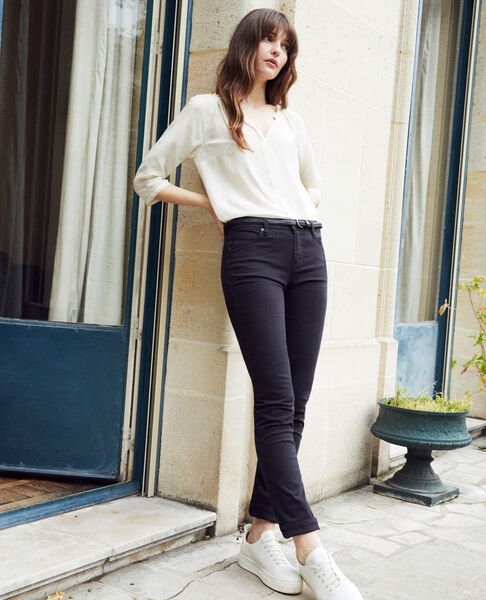 Comptoir des Cotonniers - Jeans slim Noir - 1
