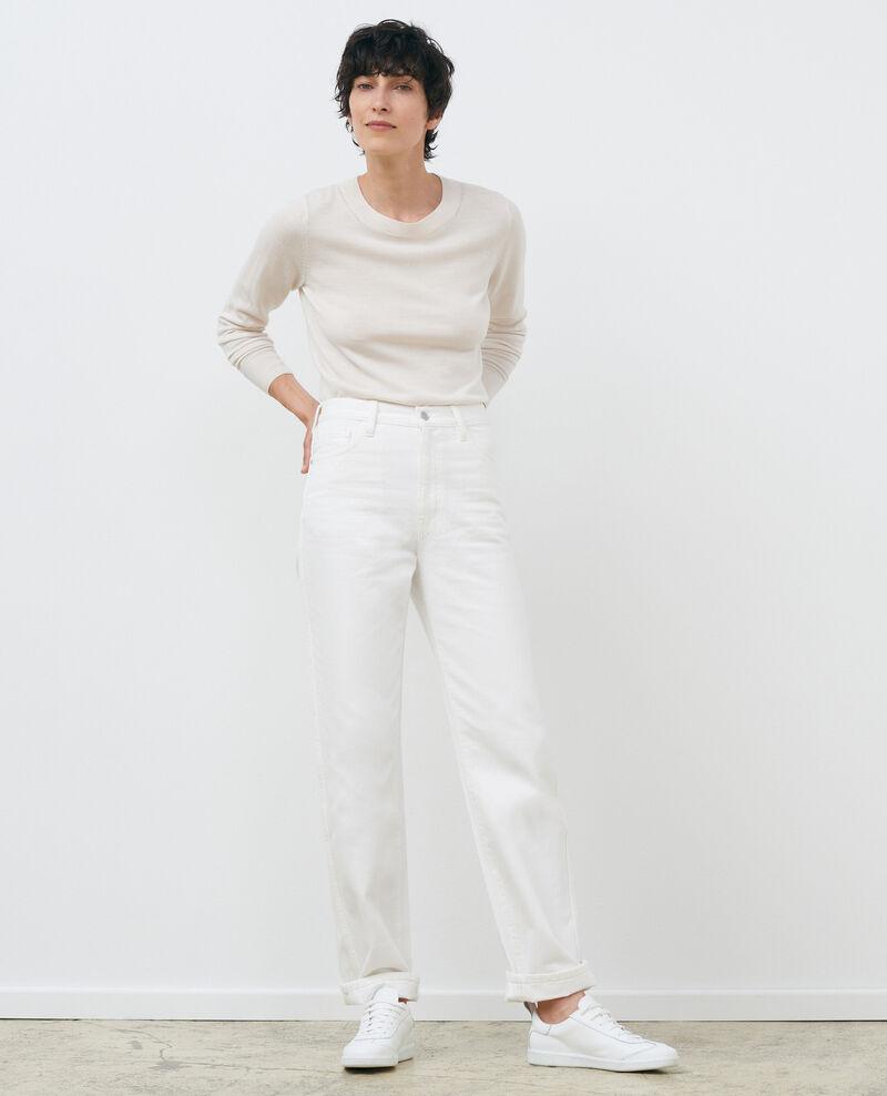 Jersey cuello redondo de lana Gardenia Passy