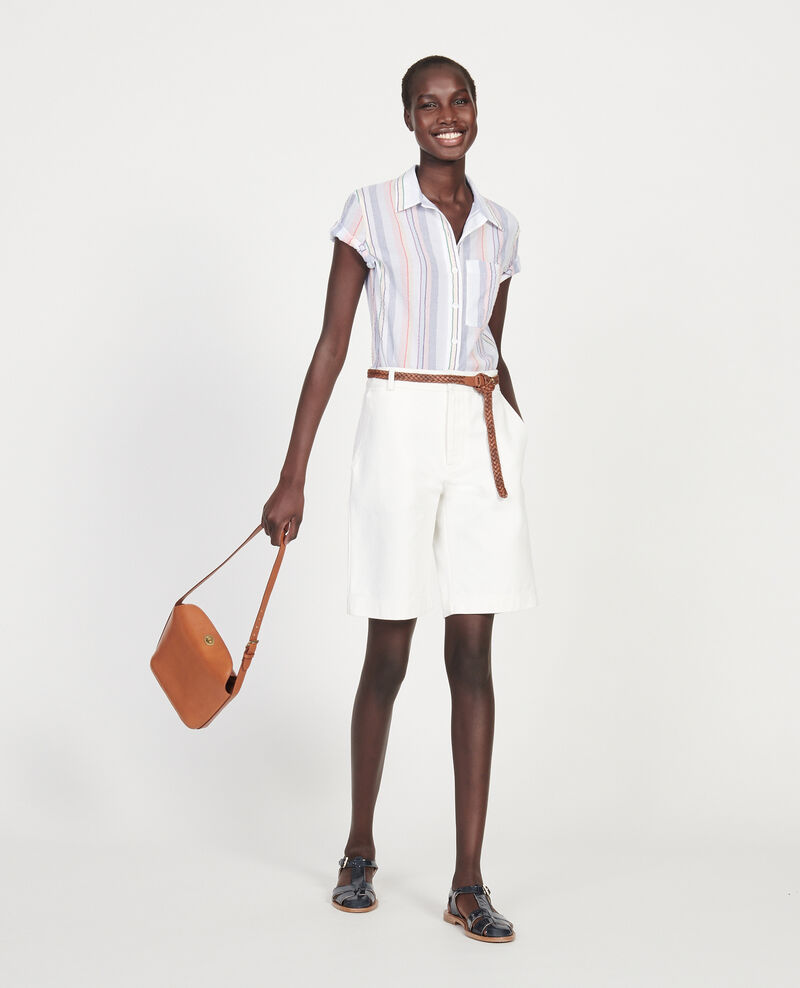 Camisa de algodón Stripes multico Lehavre
