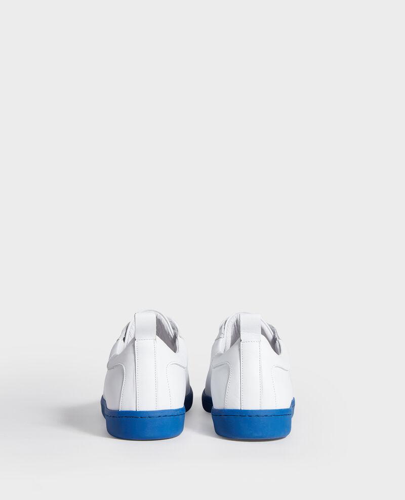 Sneakers de cuero White princess blue Lead