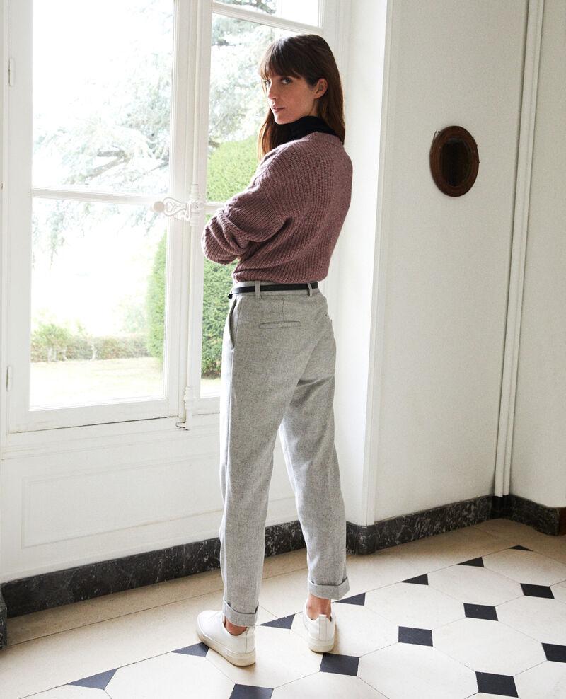 Pantalón sastre  Light grey Jokya