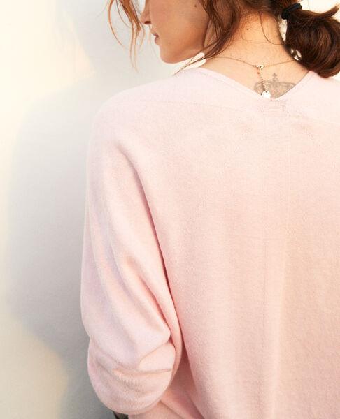 Comptoir des Cotonniers - Jersey con cachemir Pink icing - 5