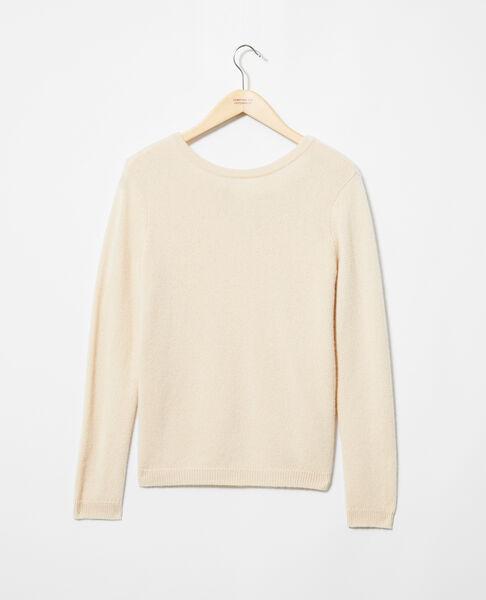 Comptoir des Cotonniers - Jersey cuello redondo de cachemir Light beige - 2
