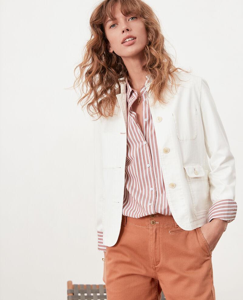 Camisa oversize rayada Auburn stripes Fregate