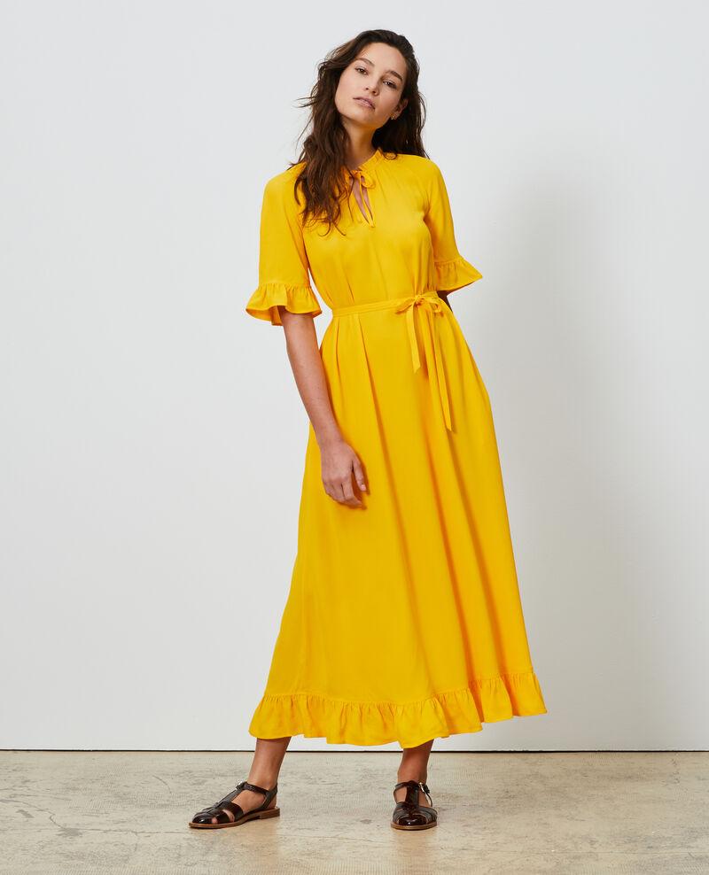 Vestido largo Gold fusion Niville