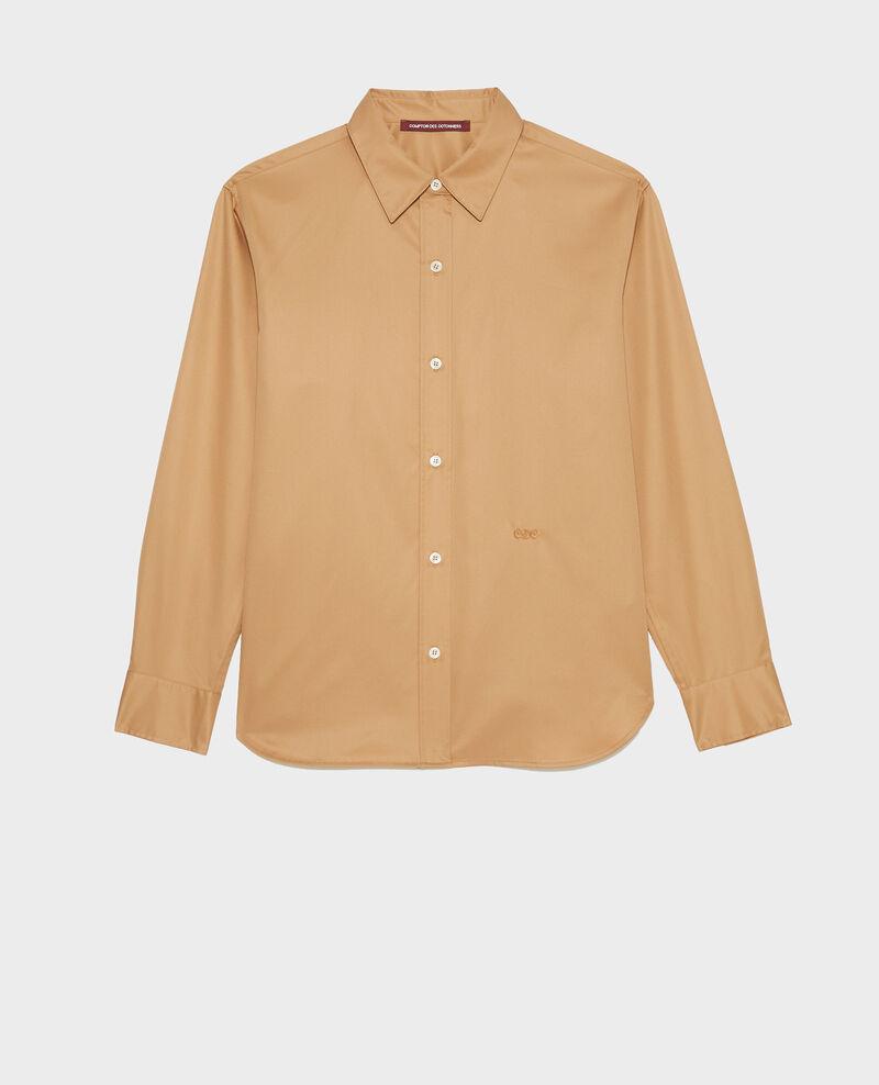 Camisa de hombre de algodón Supima Latte Mynde