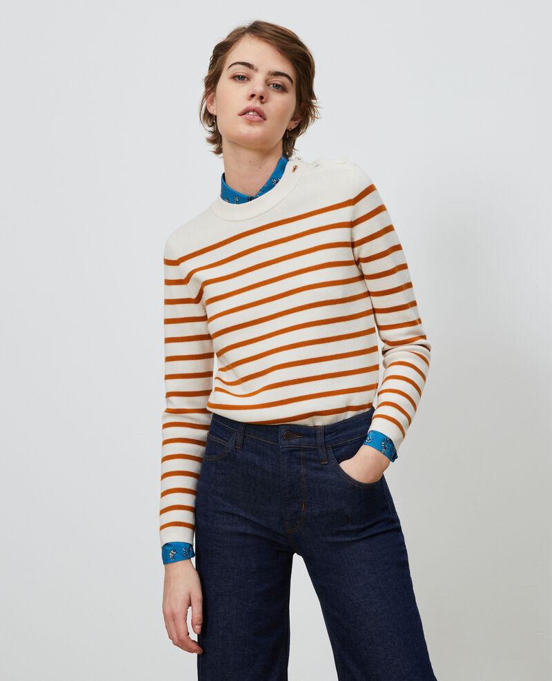 MADDY - Jersey marinero de lana Stp_grd_pumkn Liselle