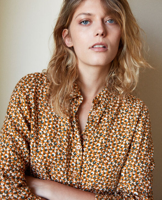 Camisa estampada LEOPARD THAI CURRY