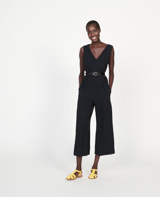 Mono pantalón de viscosa BLACK BEAUTY