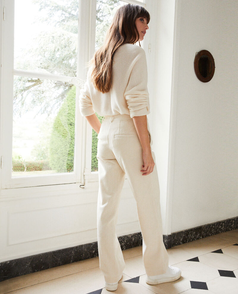 Pantalón de pana Off white Jose