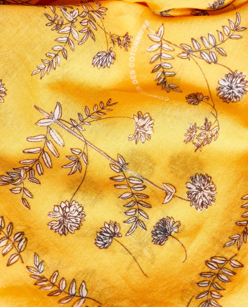 Bandana de algodón estampado Gold fusion Noronille