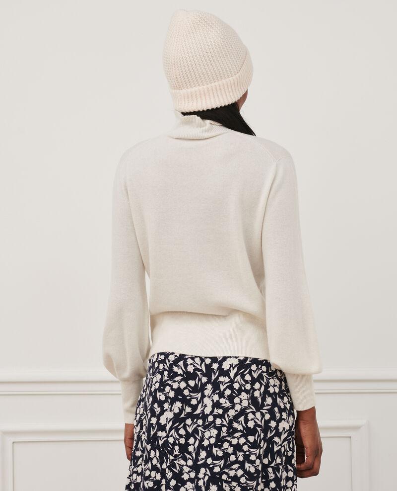 Jersey fino de cachemir 3D con cuello alto con cremallera Jet stream Mane