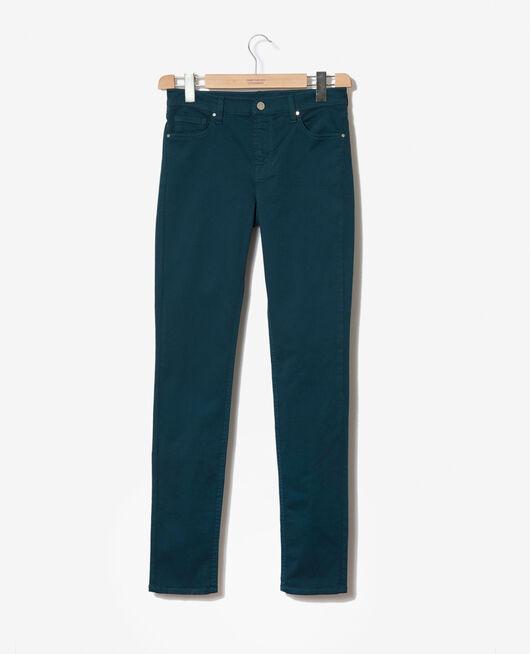 Jeans corte slim Azul