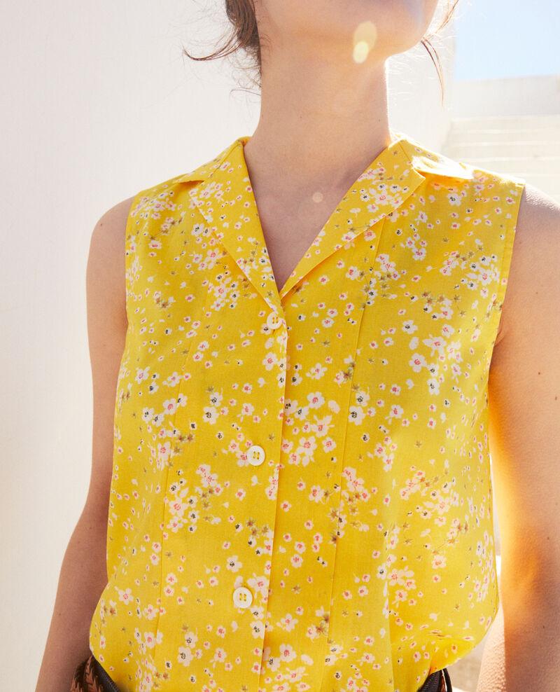 Camisa sin mangas de algodón Primula sy Imula