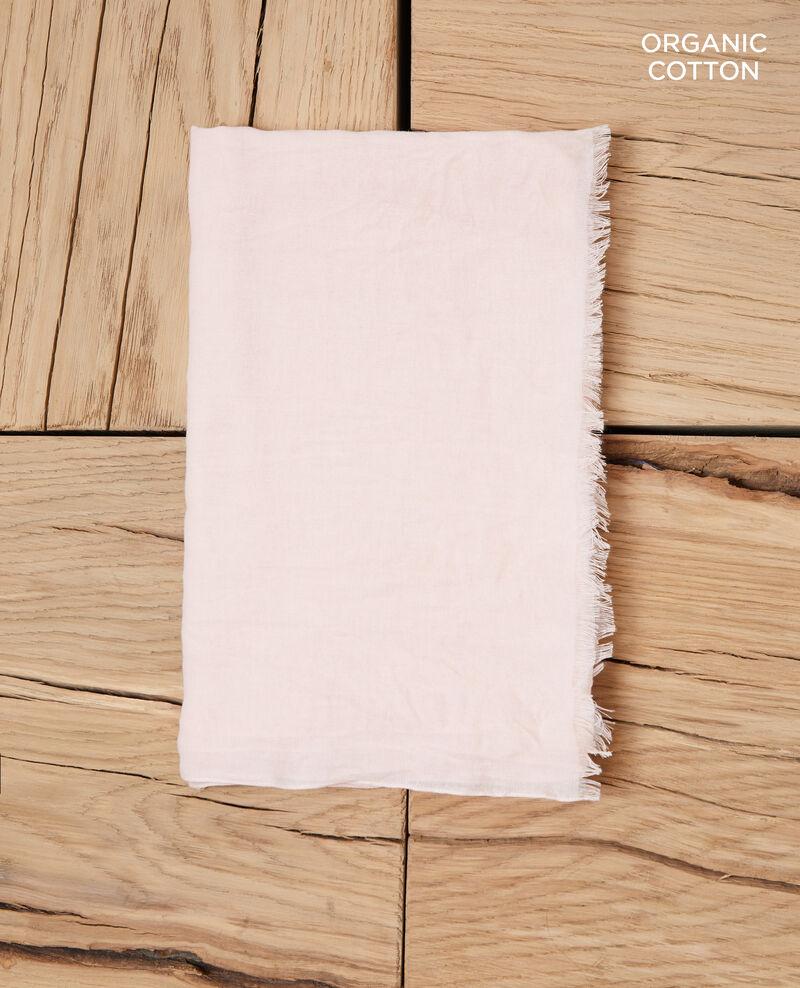 Fular de algodón orgánico Light pink Geste