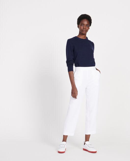 Pantalón de corte recto OPTICAL WHITE