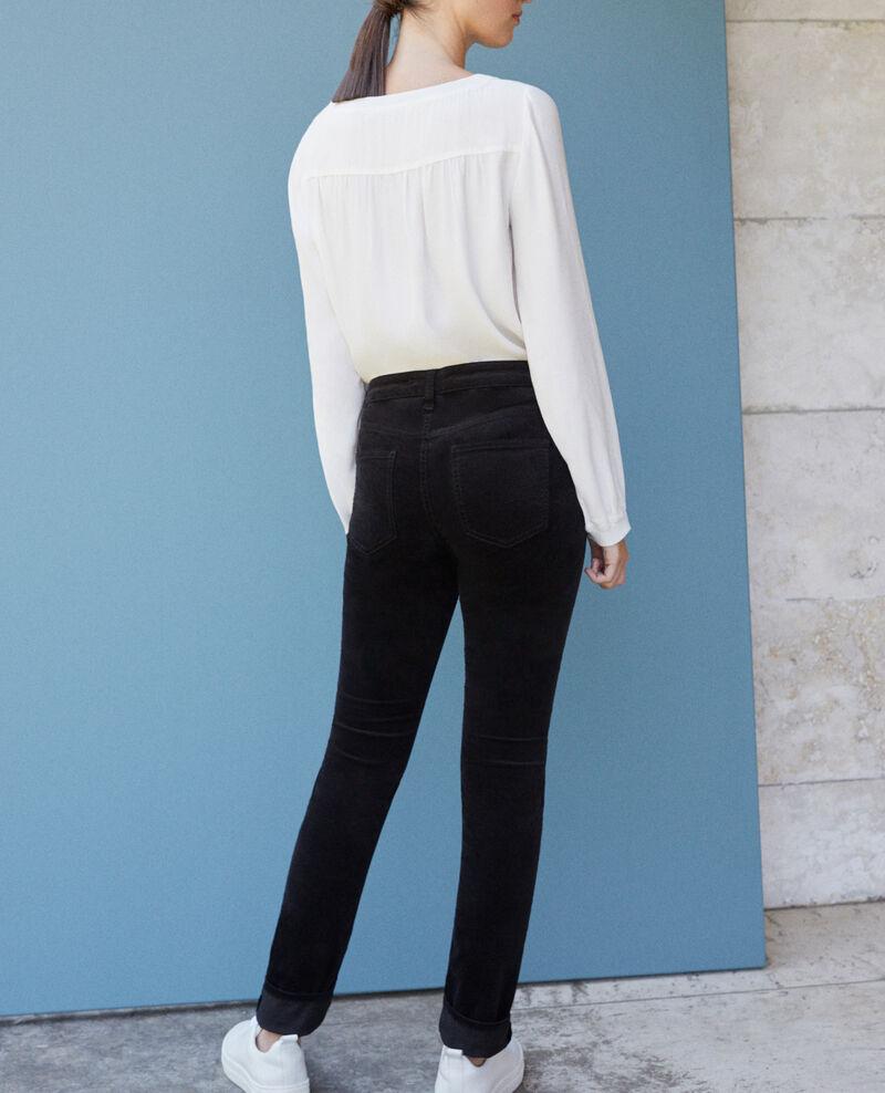 Jeans corte slim Negro Guillemin