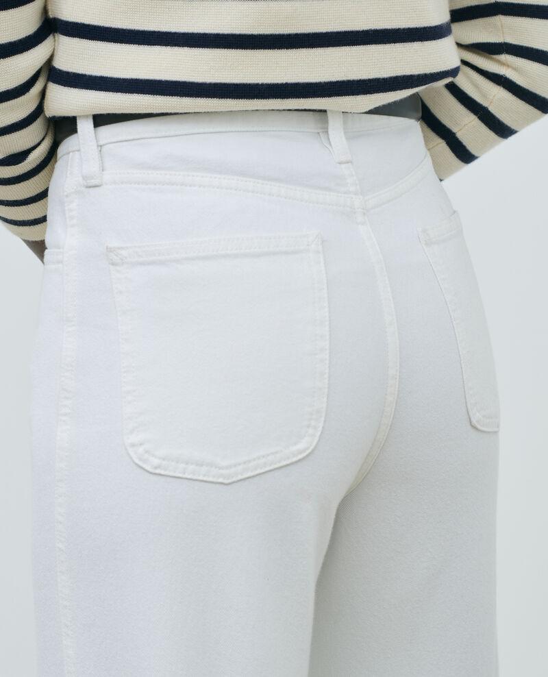REGULAR - Jeans blancos de talle alto Optical white Napur