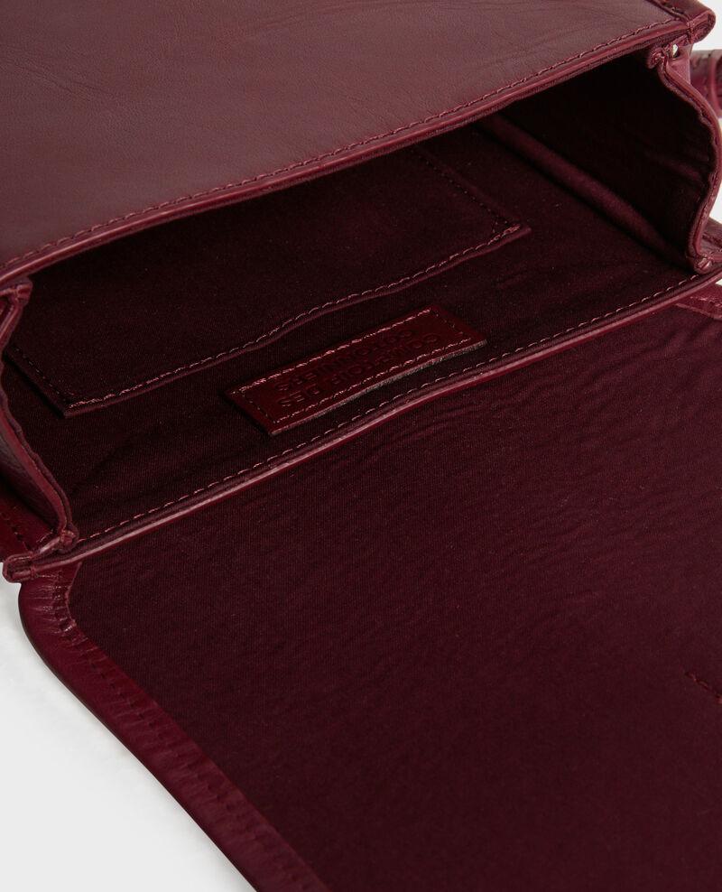 Pequeño bolso bandolera de cuero Cabernet Peretbelair