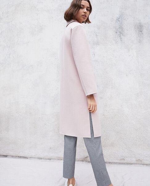 Comptoir des Cotonniers - Abrigo de doble cara Pink icing - 3