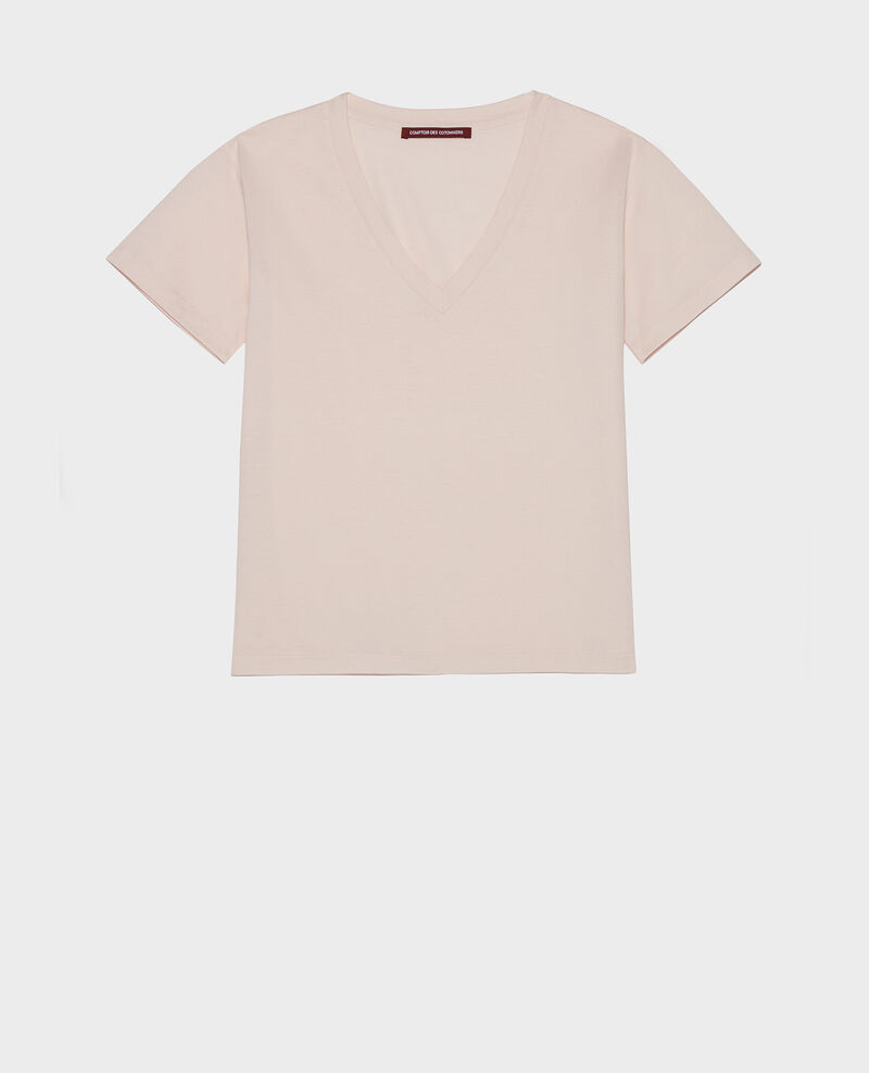 Camiseta de algodón Primrose pink Laberne