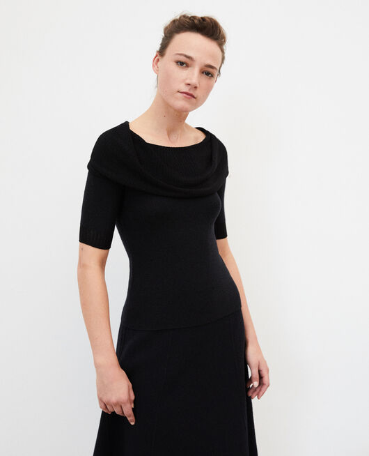 Jersey wholegarment  Negro