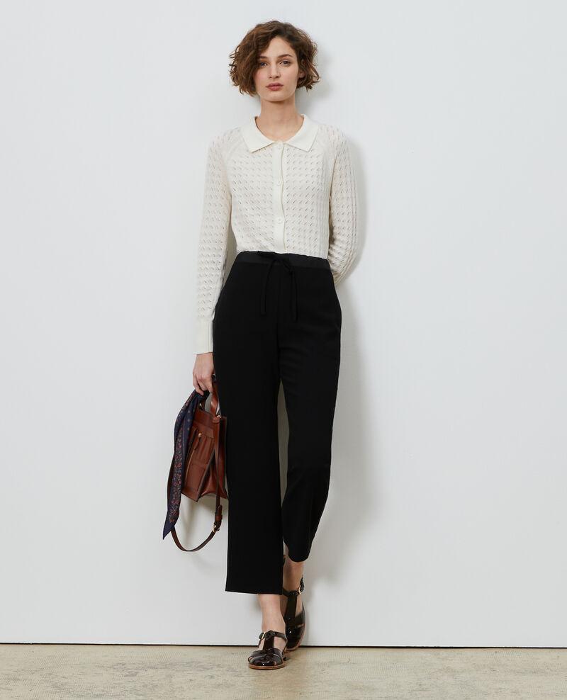 Pantalón tapered estilo sastre Black beauty Marca