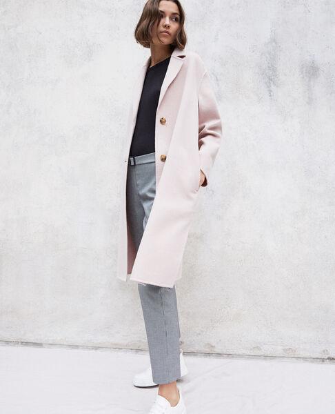 Comptoir des Cotonniers - Abrigo de doble cara Pink icing - 6