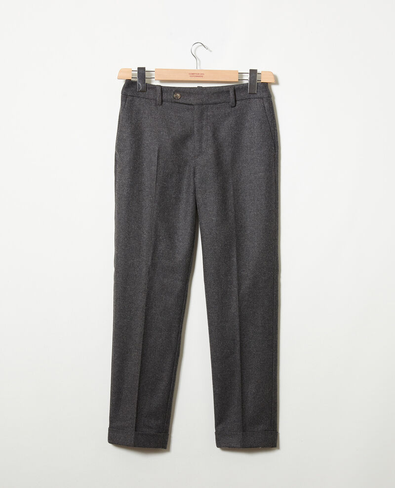 Pantalón sastre  Heather grey Jokya