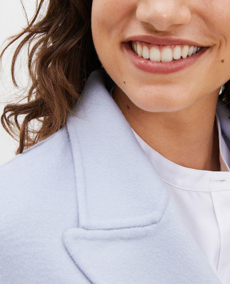 Abrigo tipo chaquetón de lana doble cara Heather Lintot