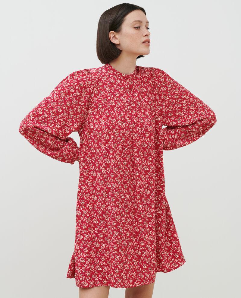 AGLAÉ - Vestido corto estampado Indienne red Palneca