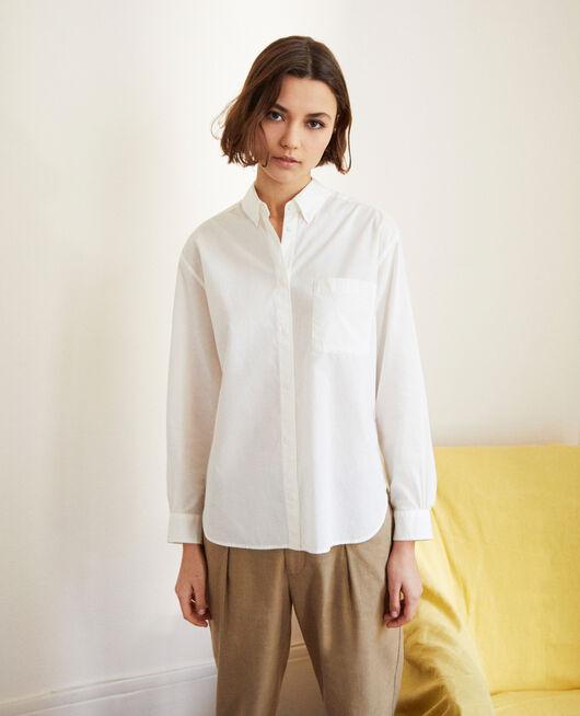 Camisa atemporal de algodón BLANC