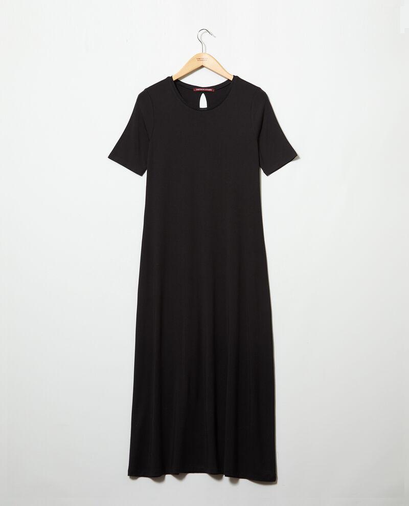Vestido con tejido de camiseta Noir Ifornia