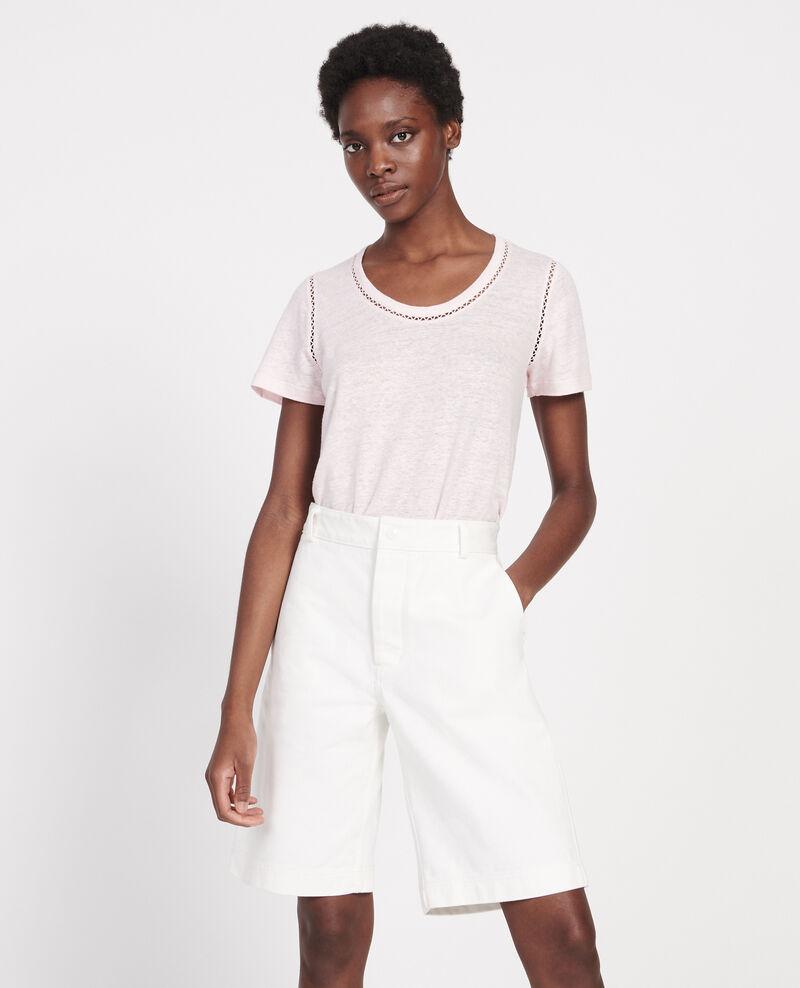 Camiseta de lino Primrose pink Lye