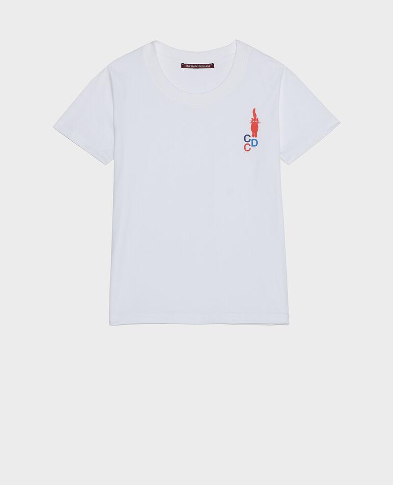 Camiseta de algodón Fiery red Lecit