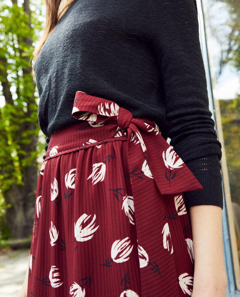 Falda cruzada Tulip cabernet Jaude