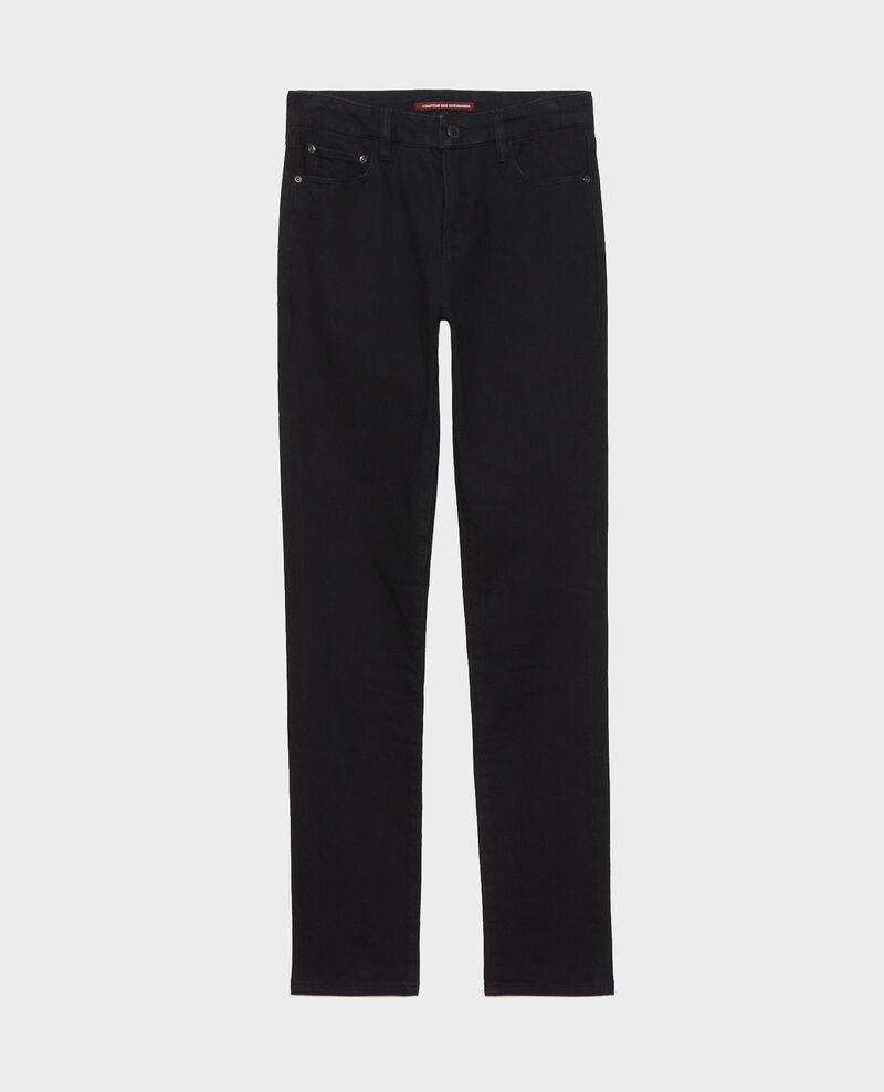 LILI - SLIM - Jeans stretch negros Noir denim Nanblack