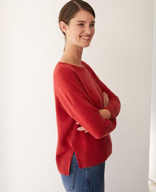 Jersey de cachemir POMPEIAN RED