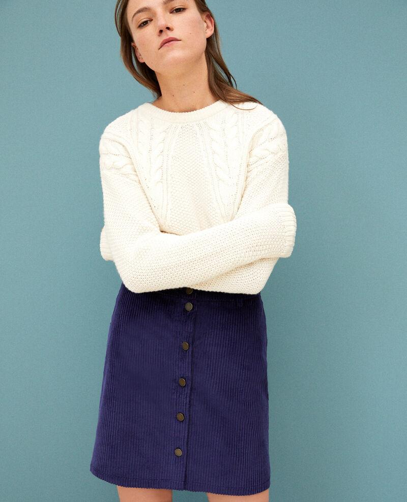 Falda de pana gruesa Medieval blue 9gammon