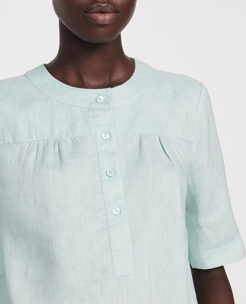 Blusa de lino Blue haze Lantoine