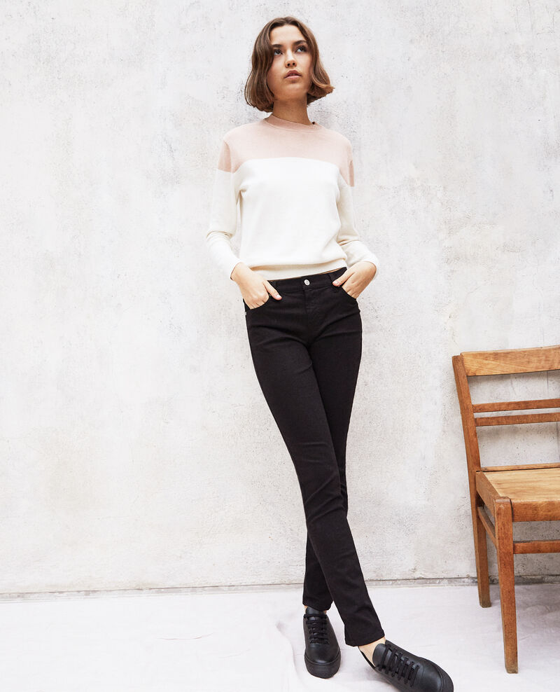 Jeans slim Noir Ilineto