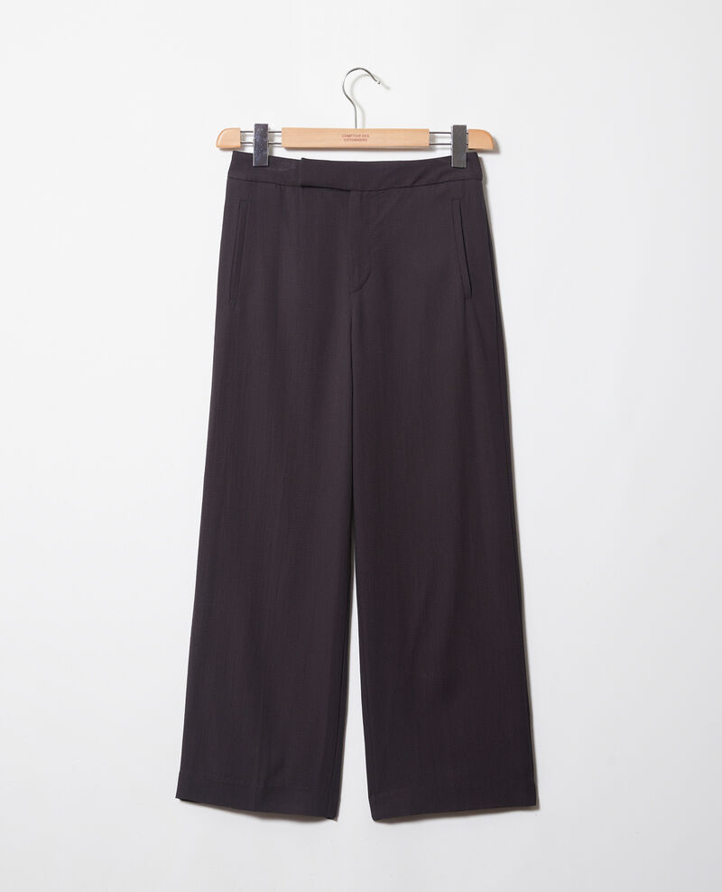 Pantalón de talle alto Noir Iokyo