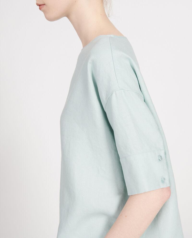 Blusa de lino Blue haze Lordat