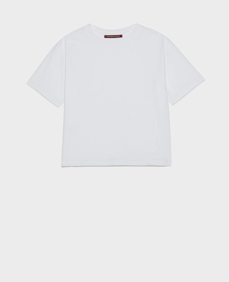 Camiseta oversize Optical white Lexana