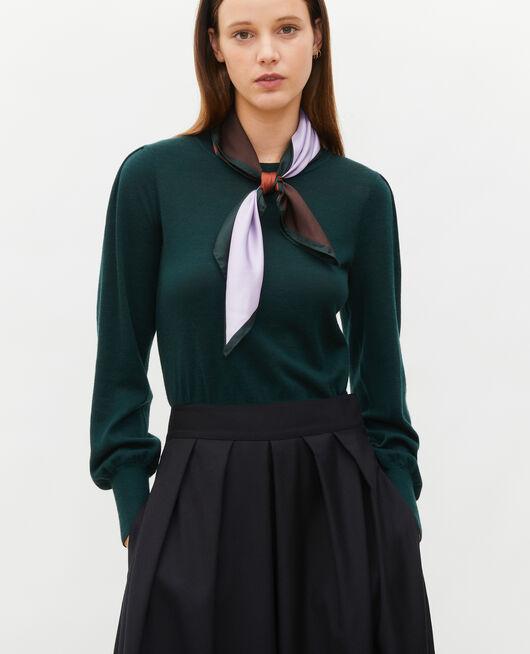 Jersey de lana merino con cuello redondo SCARAB
