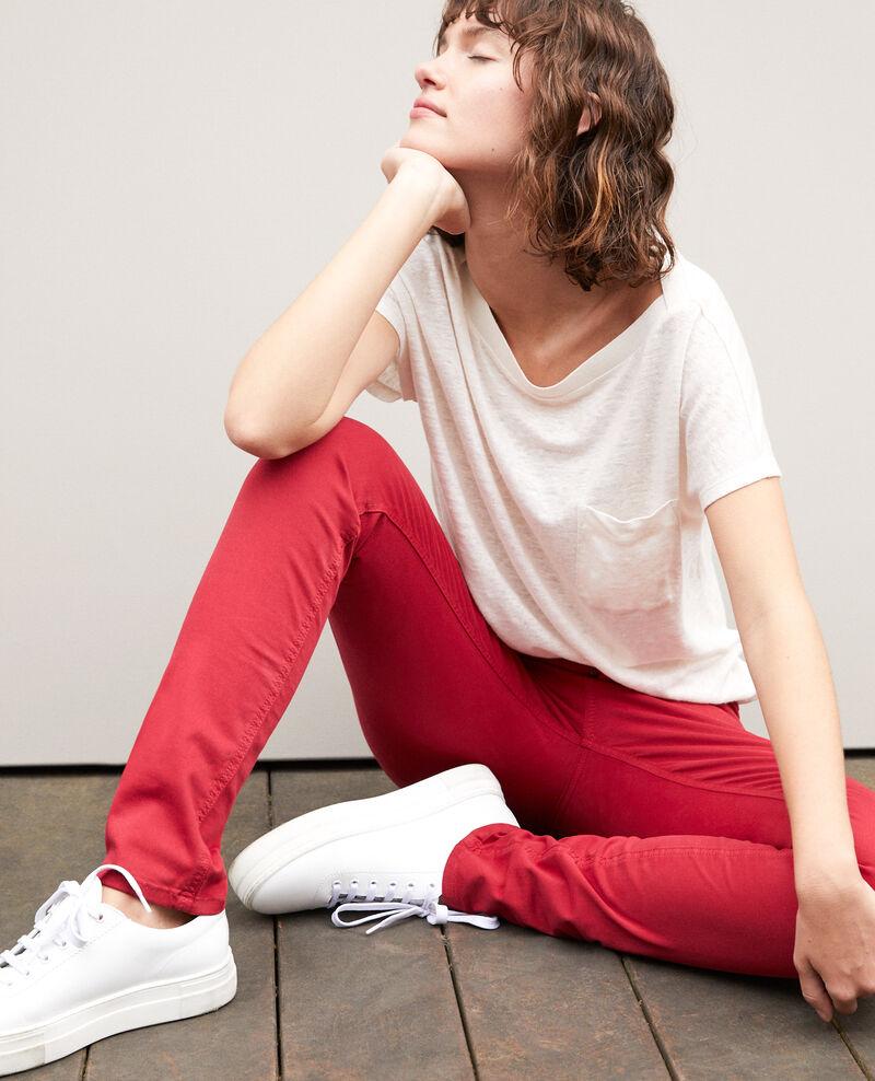 Jeans corte slim Rio red Goneto