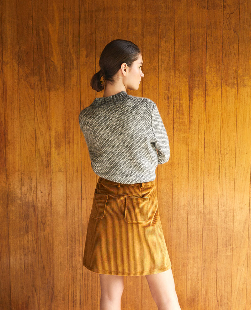 Falda de pana gruesa Golden brown Gammon